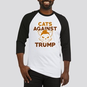 Cats Against Trump Baseball Jersey