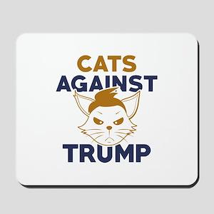 Cats Against Trump Mousepad