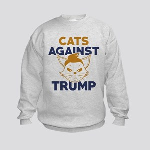 TrumpCatsAgainst1A Kids Sweatshirt