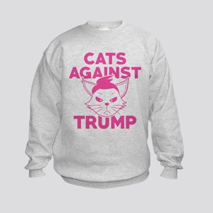 TrumpCatsAgainst1H Kids Sweatshirt