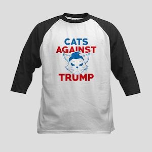 Cats Against Trump Baseball Jersey