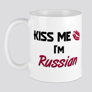 Kiss me I'm Russian Mug