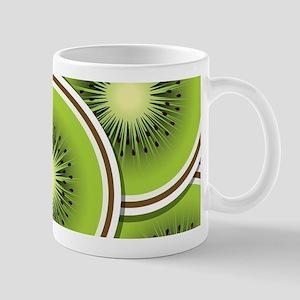 Funky kiwi fruit slices Mug