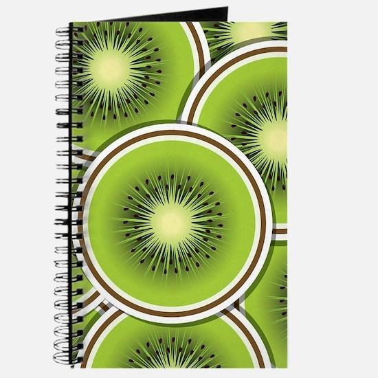 Funky kiwi fruit slices Journal