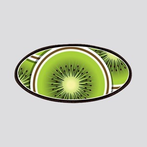 Funky kiwi fruit slices Patch