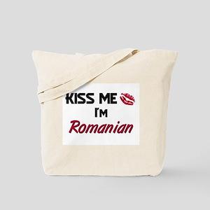 Kiss me I'm Romanian Tote Bag