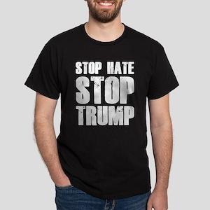 Stop Hate Stop Trump Dark T-Shirt