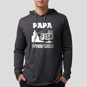 Papa Is The Fish Hooker T Shir Long Sleeve T-Shirt