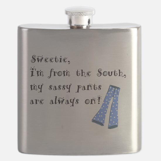 Funny Southern girl Flask