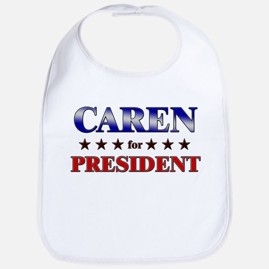 CAREN for president Bib