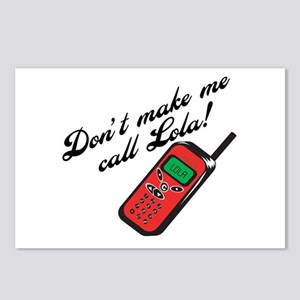 Don't Make Me Call Lola Postcards (Package of 8)