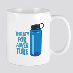 Thirsty For Adventure Mugs