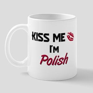 Kiss me I'm Polish Mug
