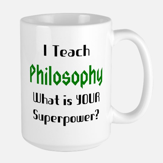 teach philosophy Mug