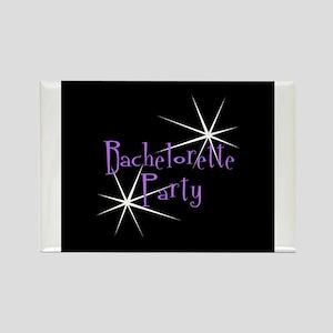 Bachelorette Party - Retro St Rectangle Magnet