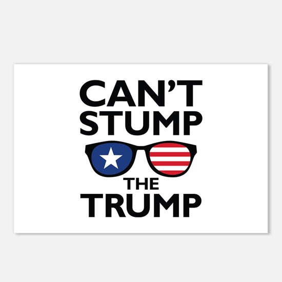 Can't Stump The Trump Postcards (Package of 8)