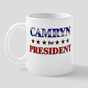 CAMRYN for president Mug