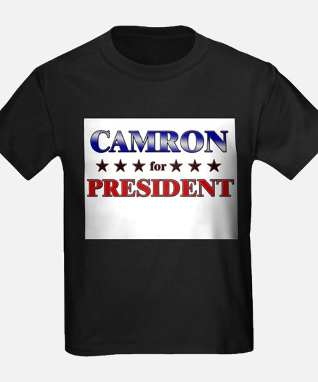 CAMRON for president T