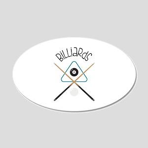 Billiards Wall Decal