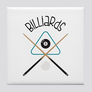Billiards Tile Coaster