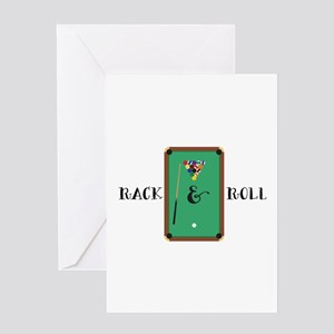 Rack & Roll Greeting Cards