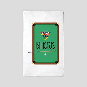 Billiards Table Area Rug