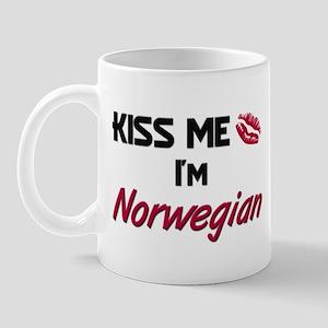 Kiss me I'm Norwegian Mug