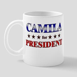 CAMILA for president Mug