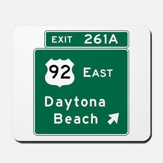 Daytona Beach, FL Mousepad