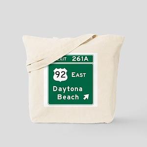 Daytona Beach, FL Tote Bag