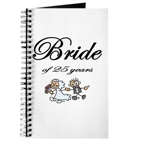 25th Wedding Anniversary Gifts Journal