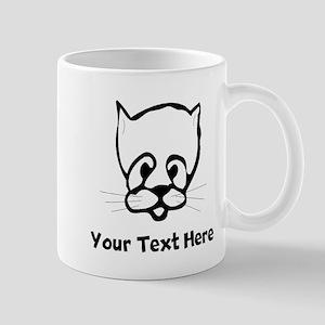 Cat Face (Custom) Mugs