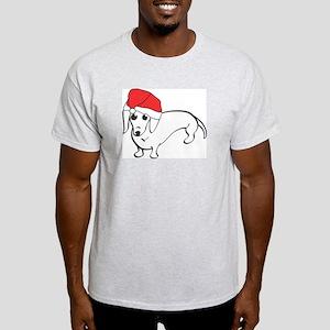 Santa Dachshund Light T-Shirt
