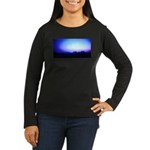 Monument Valley Dusk Women's Long Sleeve Dark T-Sh