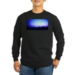 Monument Valley Dusk Long Sleeve Dark T-Shirt