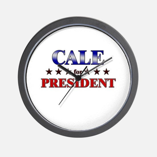 CALE for president Wall Clock