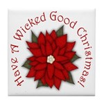 A Wicked Good Christmas! Tile Coaster