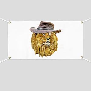 Funny Lion Banner