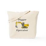 Digger Operator Tote Bag