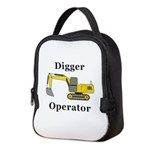 Digger Operator Neoprene Lunch Bag