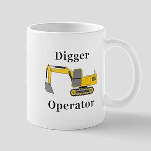 Digger Operator Mug