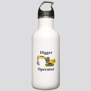 Digger Operator Stainless Water Bottle 1.0L