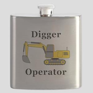 Digger Operator Flask