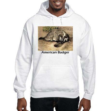 American Badger Hooded Sweatshirt