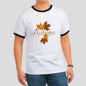 Autumn Leaves Ringer T