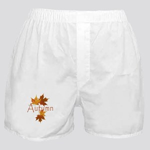 Autumn Leaves Boxer Shorts