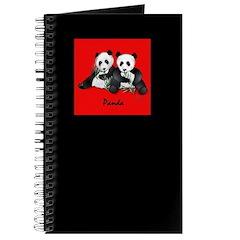 Giant Panda Bear Journal