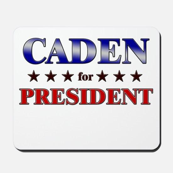 CADEN for president Mousepad