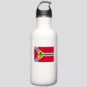 Patriotic Flag of St L Stainless Water Bottle 1.0L