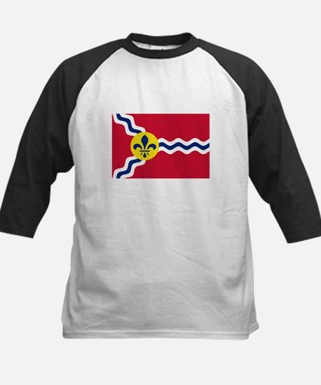 Patriotic Flag of St Louis Missour Baseball Jersey
